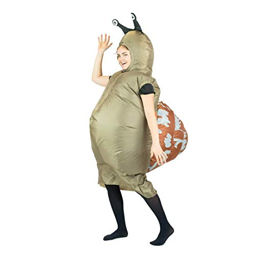 Bodysocks Fancy Dress Aufblasbares Schnecke Kostüm