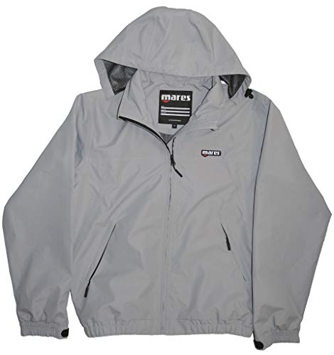Mares Unisex\'s Tecnical Team Jacket-Grey/GR, Large