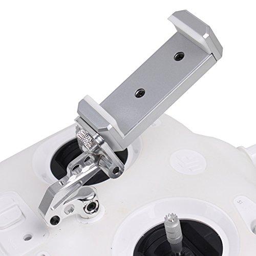 O'woda Handy / Tablet Einstellbar Halter Regler Clip Halterung Montieren Monitor Smartphone Clamp für DJI Phantom 3/4 Inspire 1 (Handyhalterung für 3S)