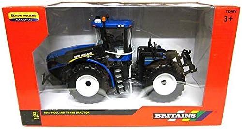 increíbles descuentos Tractor Modelo Britains 43008, 43008, 43008, New Holland T9.565, 1 32  en promociones de estadios