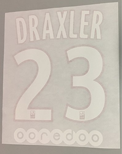 flock Original Paris Saint Germain Trikot 20cm - DRAXLER 23