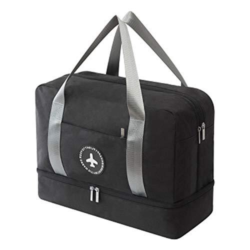 Agolaty Sports Bag, Unisex-Youth, Black, Large