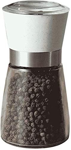 GDEVNSL Molinillo de maíz de Sal de Especias de Pimienta de Roble de Madera clásica Muller