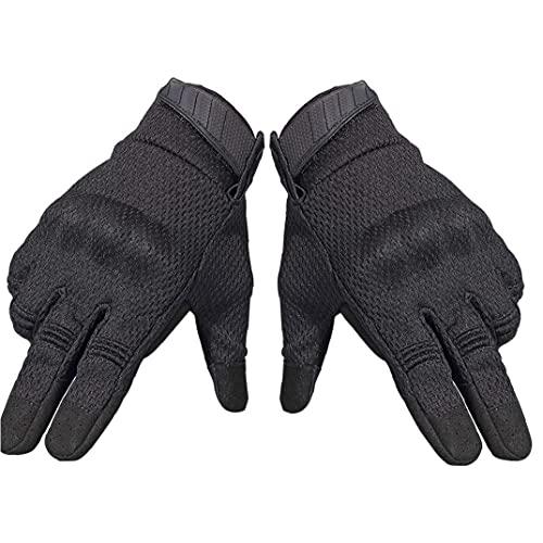 Motor Handschoenen Fietsen Handschoenen Volledige Finger Hertenleer Handschoenen En Screen Touch, Gym Handschoenen…