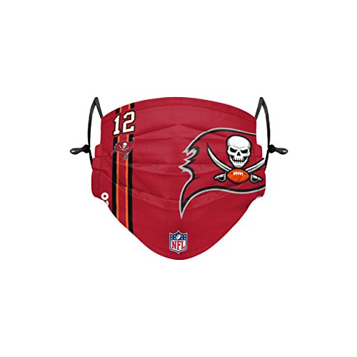 Forever Collectibles UK Tom Brady Tampa Bay Buccaneers - Cover con logo sul campo