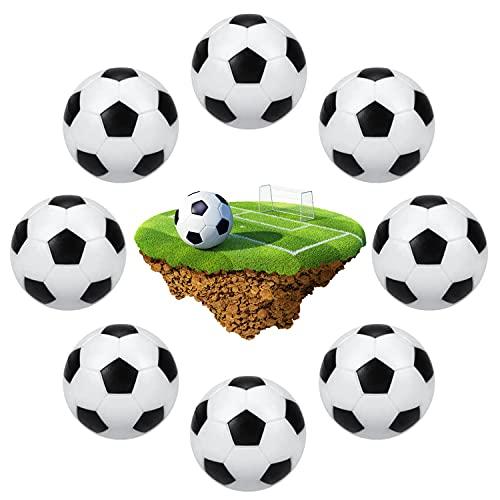 Calcio Balilla,8 Pezzi Mini Calcio Balilla,32mm Palline Calcio Balilla,Palline Calcio Balilla Mini,Palline Biliardino,per Accessorio Gioco Tavola Biliardino
