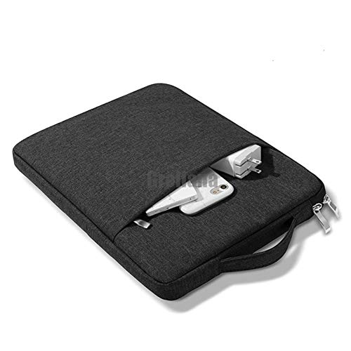 WSY Waterproof Zipper Handbag Sleeve Case For Huawei Matebook X Pro D14 D15 13.9' 13' 14' 15.6' Pouch Bag Cover MagicBook Pro 16.1 (Color : Black, Size : Matebook 13 2020)