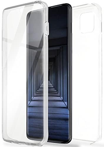 ONEFLOW Touch Hülle für Samsung Galaxy Note10 Lite Hülle beidseitig stoßfest, Schutzhülle vorne & hinten, 360 Grad Komplettschutz, Handyhülle transparent mit Bildschirmschutz - Klar