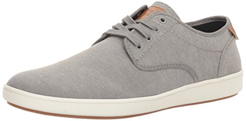 Steve Madden Men's Fenta Fashion Sneaker, Grey Fabric, 10.5 M US