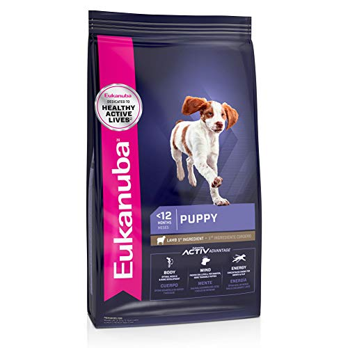 Eukanuba Puppy Lamb 1st Ingredient Dry Dog Food, 30 lb. bag