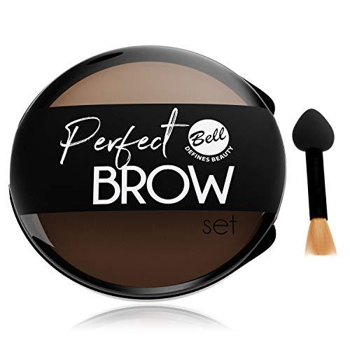 Bell - Kit de maquillage sourcils Perfect Brow 02 - Sourcils châtains
