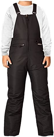 Arctix Youth Insulated Snow Bib Overalls Black Large Regular product image