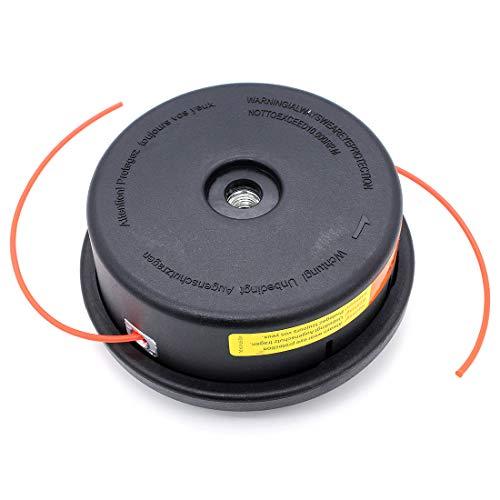 Tête Débroussailleuse Universelle Grass Trimmer Head Line pour Stihl AutoCut 25-2, M10 x 1.25 LHF Mowing Head 2.4mm Round for STIHL FS80 FS81 FS85 FS86 FS87 FS100 FS106 FS108...