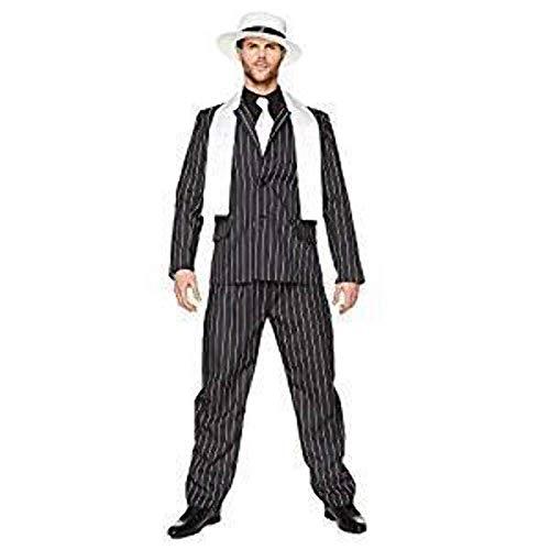 Folat B.V. Traje de Jefe de la Mafia, Disfraz para Adultos Tipo Gangster de los años 20´