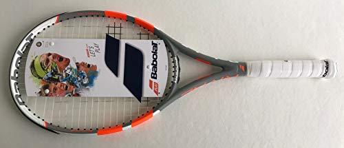 BABOLAT Rival 100 Strung Raqueta, Adultos Unisex, Gris Orange (Multicolor), 4
