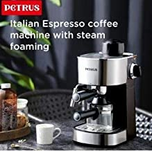 Peters Coffe Maker - With Milk Steaming Attachment, PE3180