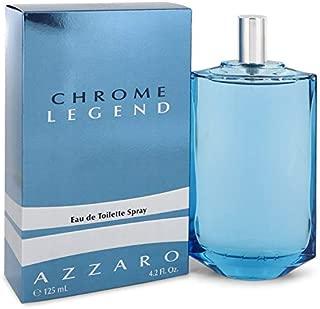 Chrome Legend by Azzaro, 4.2 oz Eau De Toilette Spray for Men