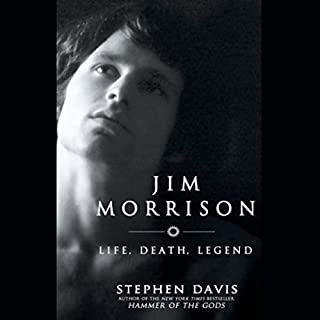 Jim Morrison audiobook cover art