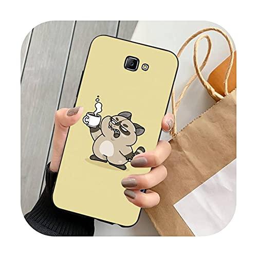 Double-sweet lindo animal de dibujos animados teléfono caso para Samsung Note 8 9 10 20 Lite pro ultra J 7 2 4 6 5 prime-a13-para Note20 ultra