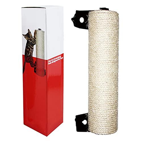 Juguete de árbol de sisal para gatos, poste rascador para gatos pequeños/medianos/grandes, dedicado a jaulas para gatos, armazón para trepar y tabla para rascar(Size:style1)