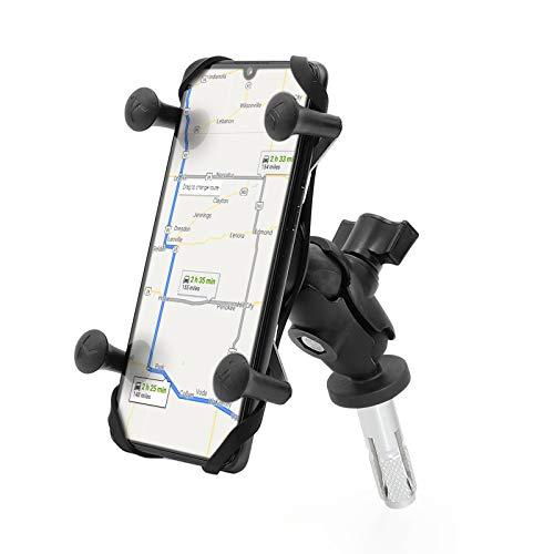 Barbaren Handyhalterung GPS-Navi Actioncam Halterung 16-19MM Lenkervorbau Montage Halterung Für GSX-R600/750 06-17 GSX-R1000 03-04 09-16 GSX1300R Hayabusa 99-07 S1000RR 10-17 CBR600RR 05-06