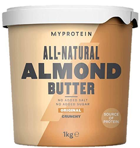 Myprotein Almond Butter Crunchy Burro di Mandorle - 1 kg
