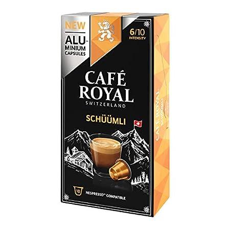 Café Royal Schümli 10 Kapseln Nespresso® kompatibel