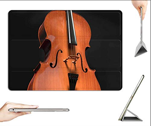 Case for iPad Mini 5 & Mini 4 - Cello Strings Stringed Instrument Wood Instrument