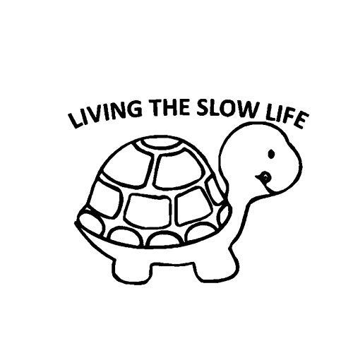 CTMNB Crawling Animal Shell Cartoon Lovely Car Sticker camper motorfiets auto styling vinyl waterdicht