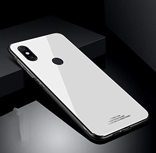 Custodia® Harte Schale Hülle für Xiaomi Mi Mix 3 (Weiß)