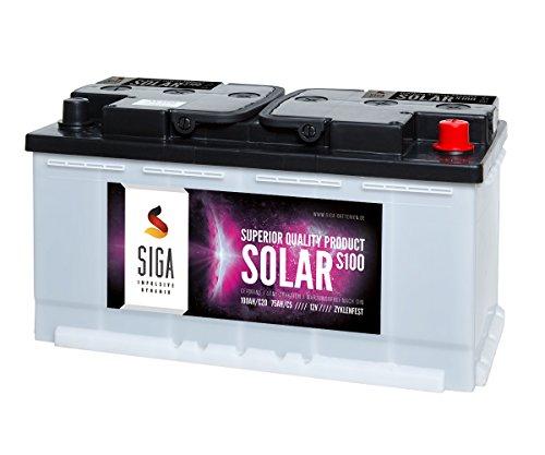 SIGA S100 Batterie 12 V/100 mAh