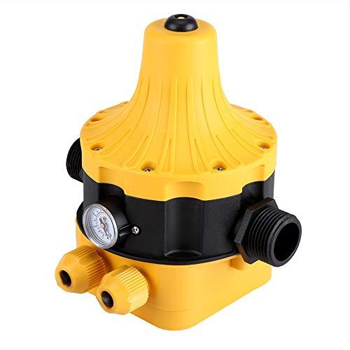 NIMOA Wasserpumpendruckschalter - Automatischer Wasserpumpendruckschalter mit Messhaushaltszubehör Elektrischer Regler