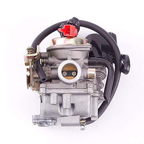 QAIK PD18J Carburetor 50cc 4 Stroke GY6 139QMB ciclomotor 49CC 60cc Fit para Sunl Baja Tank NST Viva ATM BMS REDCAT Carburador