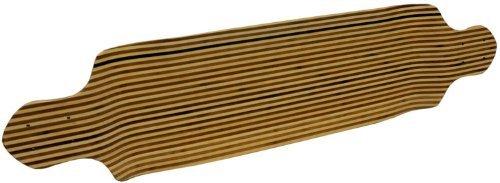 TGM Skateboards Drop Down Longboard Deck - Canadian Maple with Bamboo Inlay 9.75 x 41.5