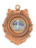 Emblems-Gifts Triumph 65 mm Schach Bronze Medaille & Band personalisierbar