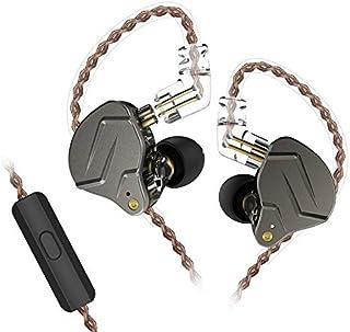 KZ, auricolari HiFi In-ear dinamici ZSN Pro, con tecnologia ibrida With mic Grigio