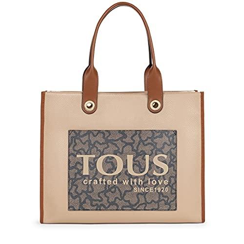 TOUS Bolso Shopping Amaya Kaos Icon XL marron
