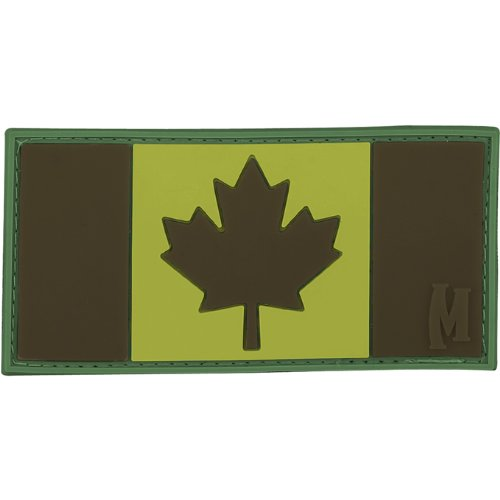 Maxpedition Gear Subdued Kanada-Flagge, 7,6 x 3,8 cm