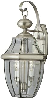 Brushed Nickel Bel Air Lighting Trans Globe Lighting W-801 BN Indoor Sliva 6 Flushmount