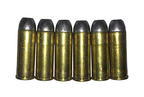 45 Long Colt Snap Caps Peacemaker .45 LC Winchester Cowboy (6X w/Rubber Inserts)