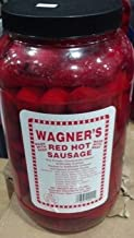 Wagner's Red Hot Beef Sausage 4 Lb (2 Pack)