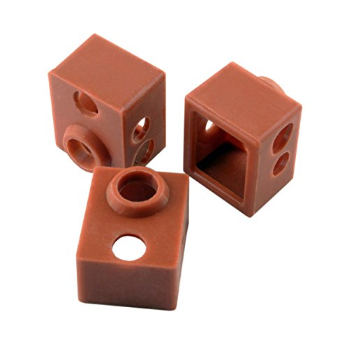 [Gulfcoast Robotics] 3 PCS x Thermal Protection Silicone Sock for V6 3D Printer Extruder Hotend