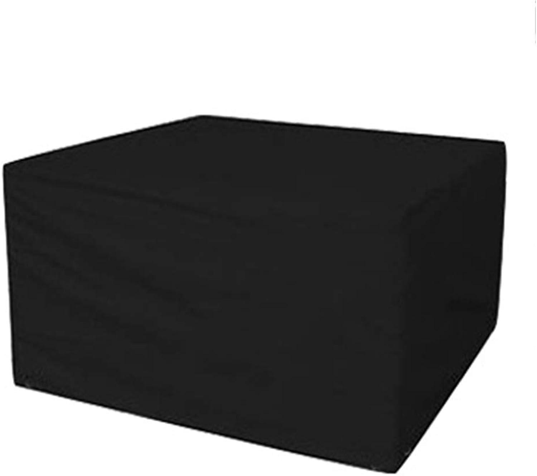 el mas reciente AING-COVER Cubierta De Muebles Muebles Muebles Tela Oxford Al Aire Libre Jardín Rectangular Cubo Guardapolvo, Impermeable Anti-Ultrapúrpuraa (Color   Negro, Tamao   270  180  89cm)  tiendas minoristas