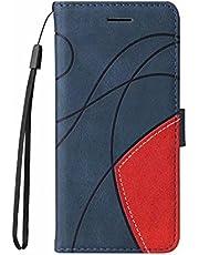 Case Compatibel met MOTO G10/G30, Shockproof Premium Lederen Magnetische Sluiting Boek Flip Folio Portemonnee Cover met Kaartsleuf Stand Feature Telefoongevallen voor MOTO G10/G30