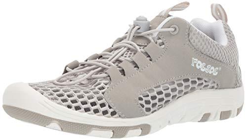 RocSoc Women's 8825-3 Water Shoe, White/Grey, 11 M US