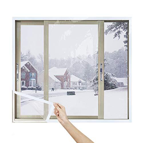 窓 防寒 防風 保温シート 冷気遮断 暖房効率アップ 防寒 省エネ冷気対策(100cm*220cm一枚入れ)マジックテープ付き
