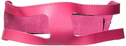 ChokeFree Pet Shoulder Collar, 25-Inch, Non Metallic Raspberry Rose