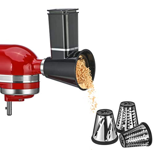 Slicer/Shredder Attachments for KitchenAid Stand Mixer,Cheese Grater...