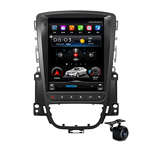 YCJB Android 10.0 Stereo Radio per Buick Excelle/Opel Astra J 2010-2014 Navigazione GPS 10.4 '' Touchscreen MP5 Multimedia Player Player Video Ricevitore con 4G WiFi SWC DSP,8core 4gwifi 4+64gb