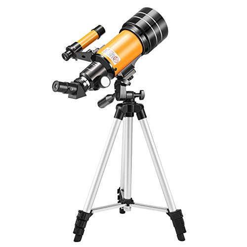 Brawdress 70mm Telescopes for Astronomy for Beginners, Aperture Professional Telescope with Tripod Astronomical Refracting Telescope, Black